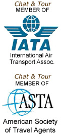 Chat & Tour (Tradizione Turismo) is a member of the IATA and ASTA.